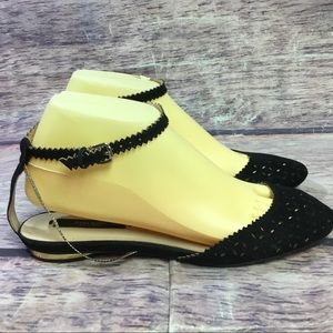 Zara basic collection shoes women's 39 flats black
